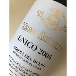 Unico 2004 Vega Sicilia